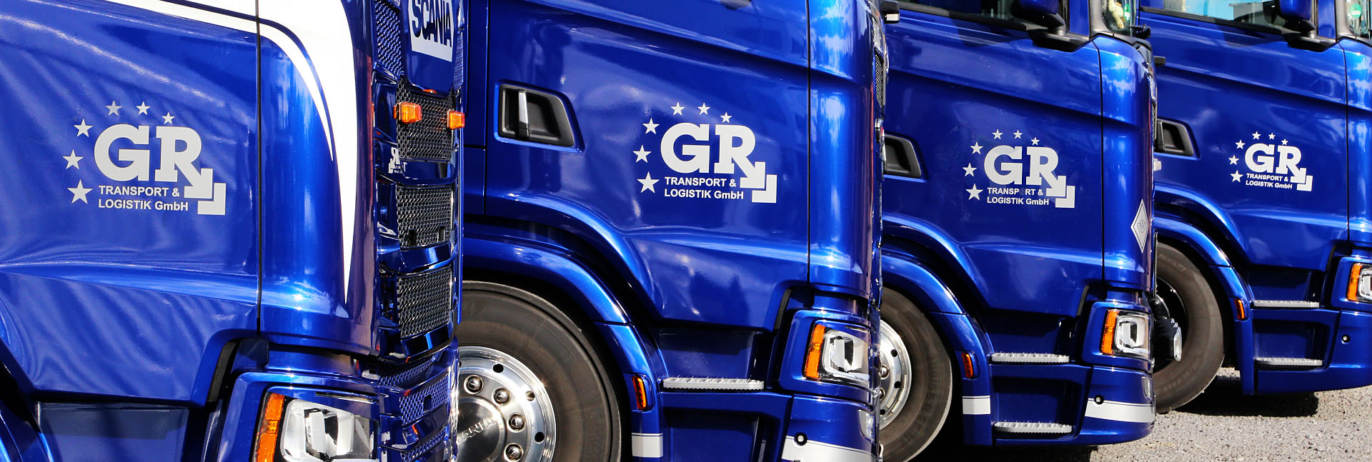 GR Transport & Logistik GmbH Slider